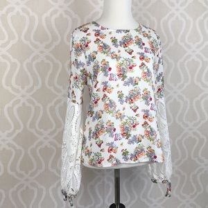 Tops - Wildflowers and Lace Boho Top